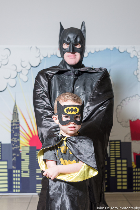 Bat Hero Man costume character appearance by Portland Party Characters in Oregon, kids super hero birthday party, hire professional entertainer, Hillsboro, Vancouver, coo