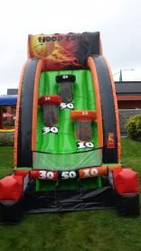 Inflatable Basketball Hoop Zone Game Ren