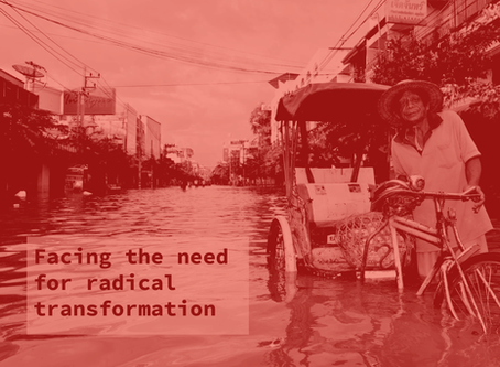 Presentation: Climate change politics, the problem of change and the new urban geographies [...]
