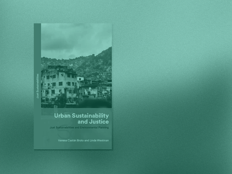Book release: Urban Sustainability and Justice