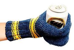 beer mitten, coozie, beer gift