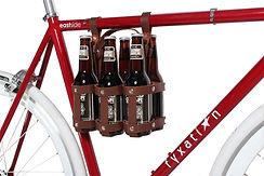 six-pack holder, beer gift, bike, commuter