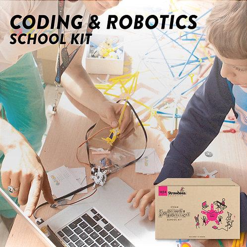 Strawbees Coding and Robotics School Kit