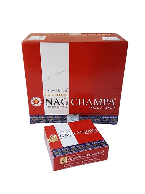 Wierookpuntjes Golden Nag Champa