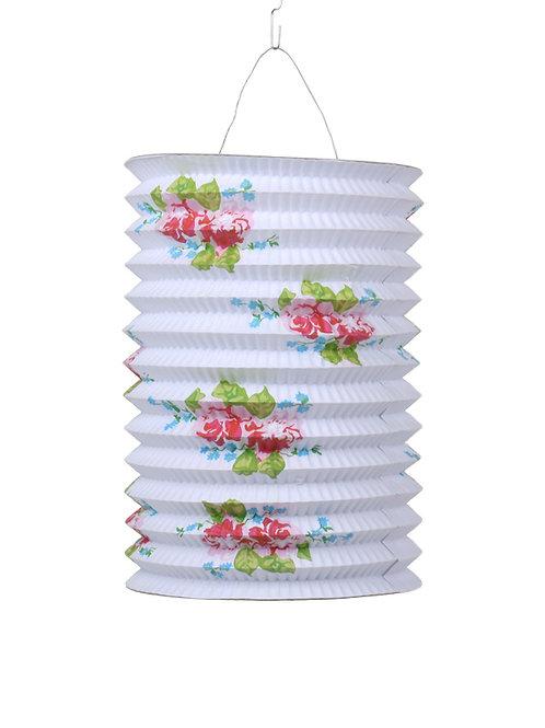 lampion japans chinees aziatisch lamp chinese japanse papieren witte bloemen meisje sint maarten kind