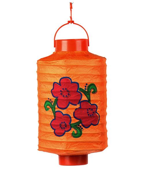 lampion japans chinees aziatisch lamp chinese japanse papieren bol rood oranje bloem sint maarten kind