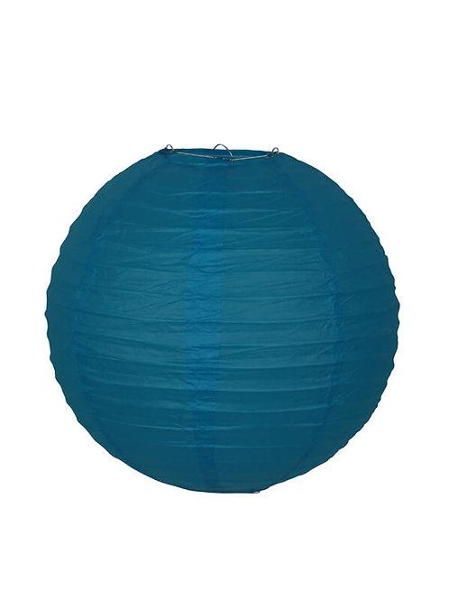 lampion japans chinees aziatisch lamp chinese japanse papieren bol blauw blauwe turkoois turquoise