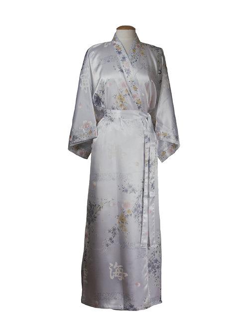 Kimono 100% polyester wit