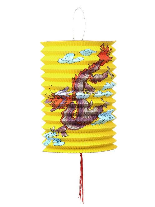lampion japans chinees aziatisch lamp chinese japanse papieren draak geel sint maarten kind