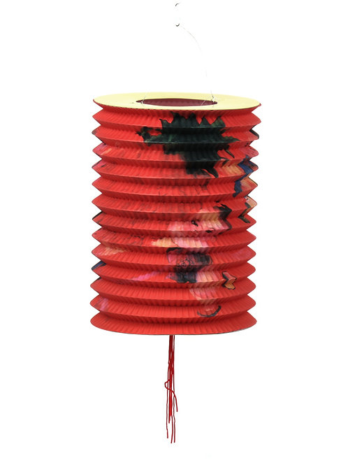 lampion japans chinees aziatisch lamp chinese japanse papieren bloem rood rode  sint maarten kind