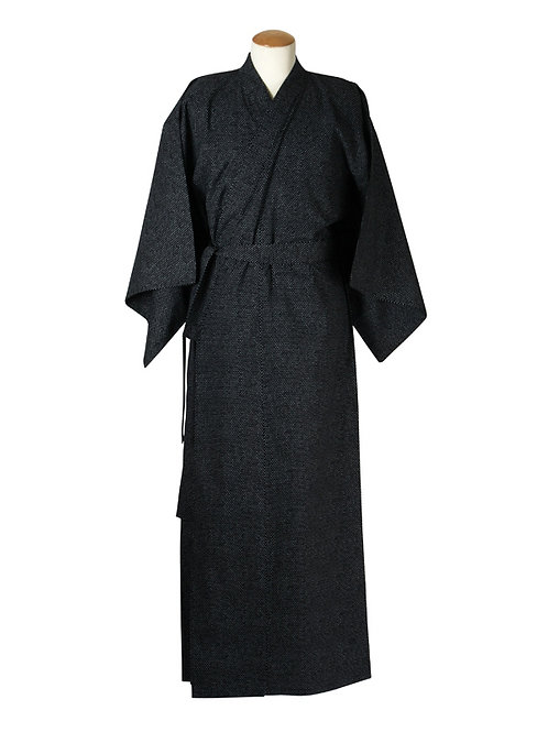 Yukata 100% katoen  Chidori  zwart