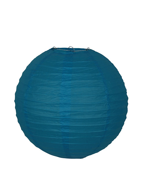 lampion japans chinees aziatisch lamp chinese japanse papieren bol blauw blauwe turquoise