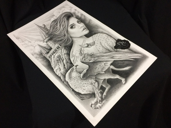Harry Potter Hermione ~ Poster Art