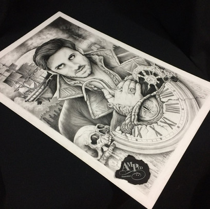Once Upon A Time Peter Pan ~ Poster Art