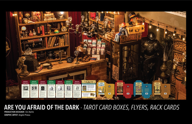 ARE YOU AFRAID OF THE DARK - GRAPHICS
