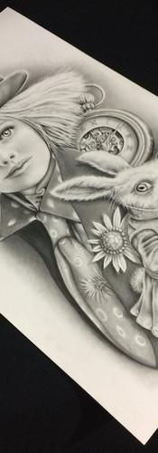 Alice In Wonderland ~ Poster Art