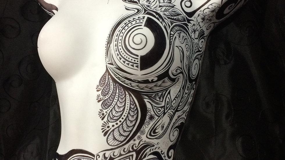 Mannequin Sharpie Art
