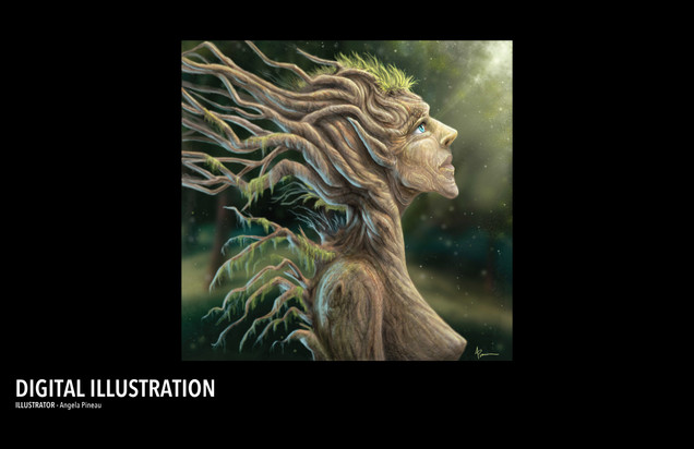 TREE FAIRY - ILLUSTRATION