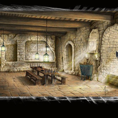 Castle Eatery Environment