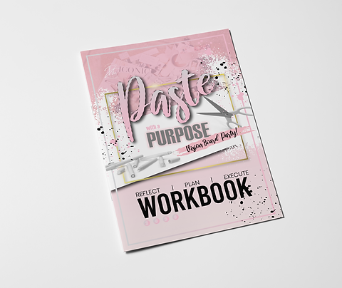 Paste with a Purpose Vision Board Party JAN 4TH  @ 12PM