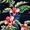 Thumbnail: Fabric - Navy Makaha Nights