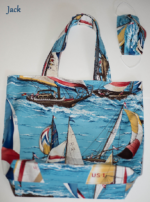 Tote with Mask