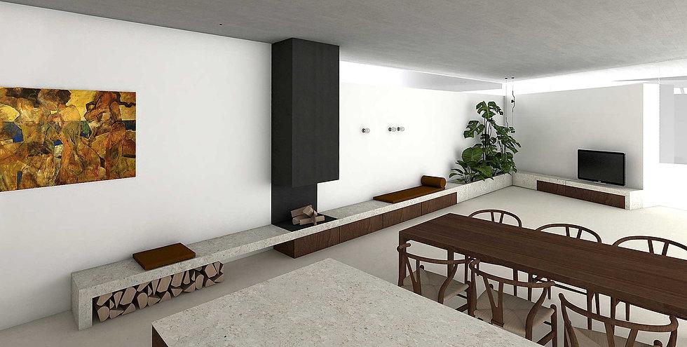 martina hatzenbichler-innenarchitektur-interior design-wien-vienna-architektur-einfamilienhaus-single familiy house-küche-minimalistisch-minimalistic kitchen-wohnzimmer-living room-wohnküche-heller boden-pandomo-white floor-nussholz-walnut wood-kalkstein-limestone-03.jpg