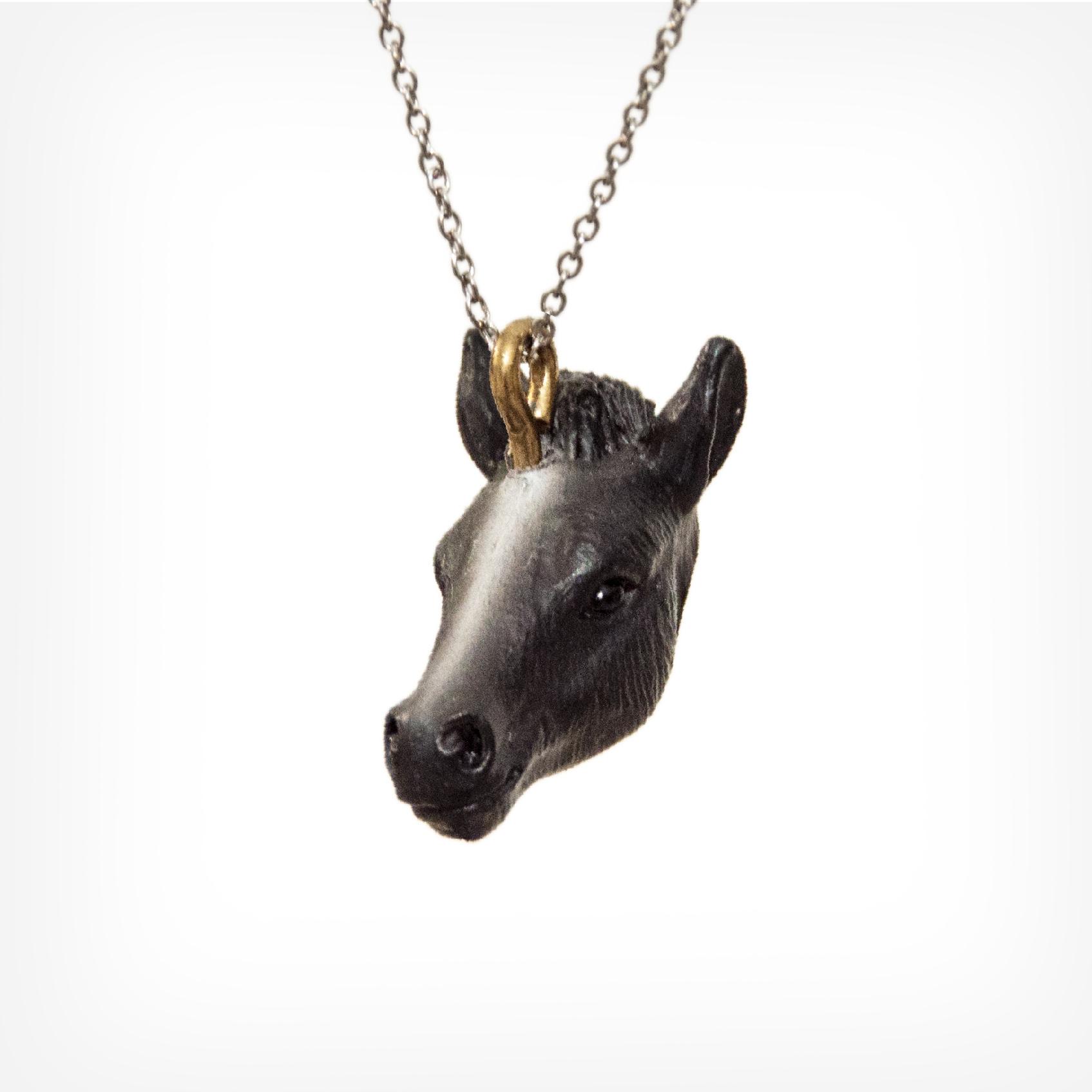 Pferd schwarz | horse black