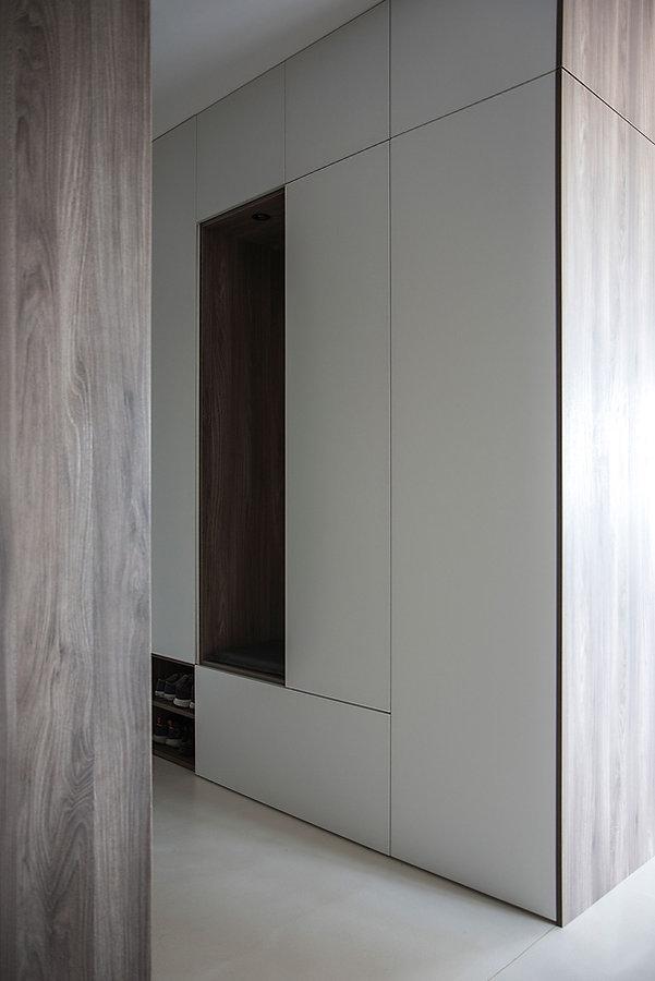 caramel-architekten-martina hatzenbichler-wien-vienna-innenarchitektur-interior design-apartment-wohnung-vorraum-hallway-garderobe-wardrobe