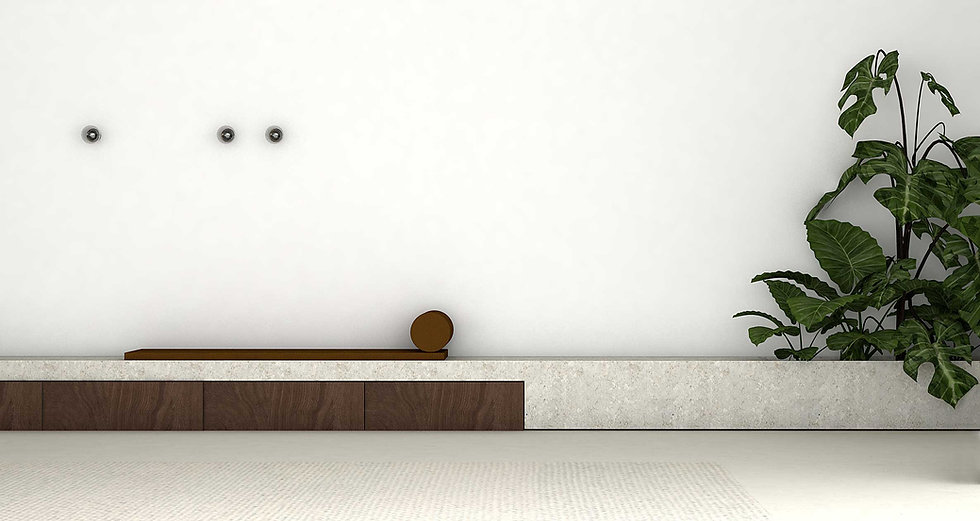 martina hatzenbichler-innenarchitektur-interior design-wien-vienna-architektur-einfamilienhaus-single familiy house-living room-wohnzimmer-white floor-heller boden-pandomo-sitzbank stein-bench stone
