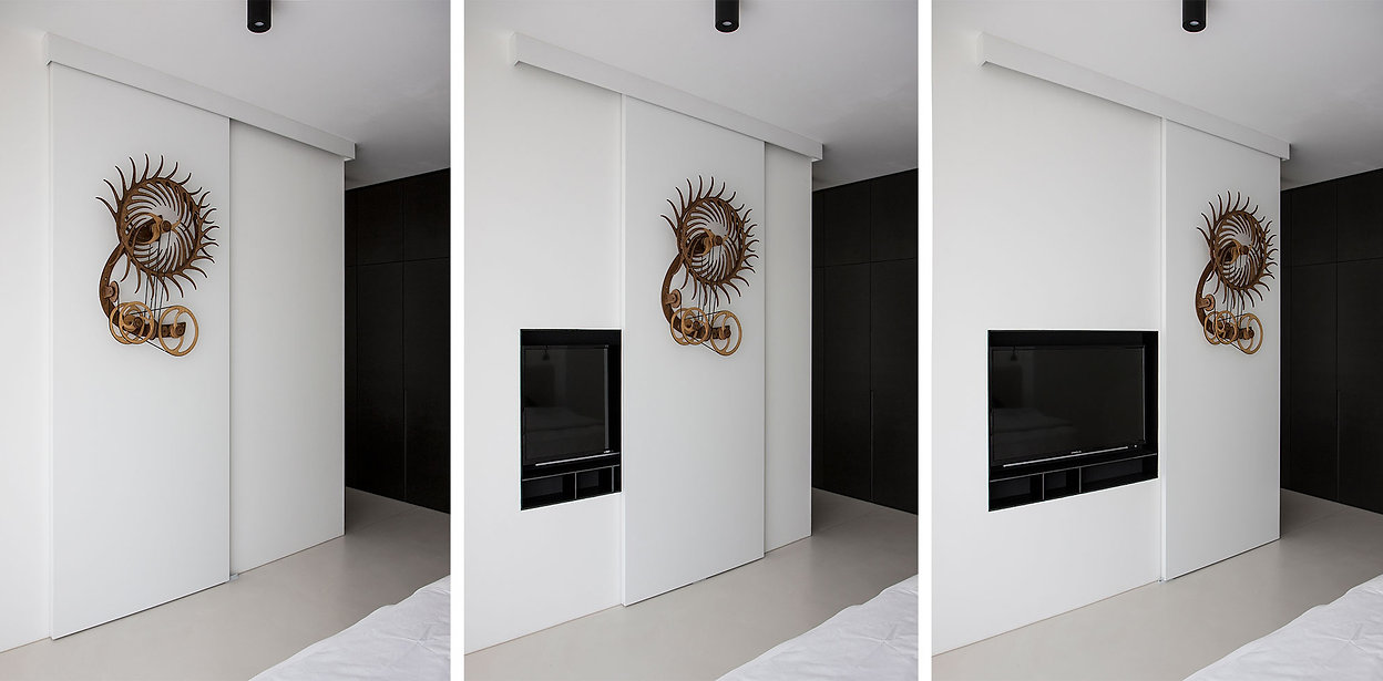 caramel-architekten-martina hatzenbichler-wien-vienna-innenarchitektur-interior design-apartment-wohnung-tv möbel-tv furniture-tv versteckt-tv hidden
