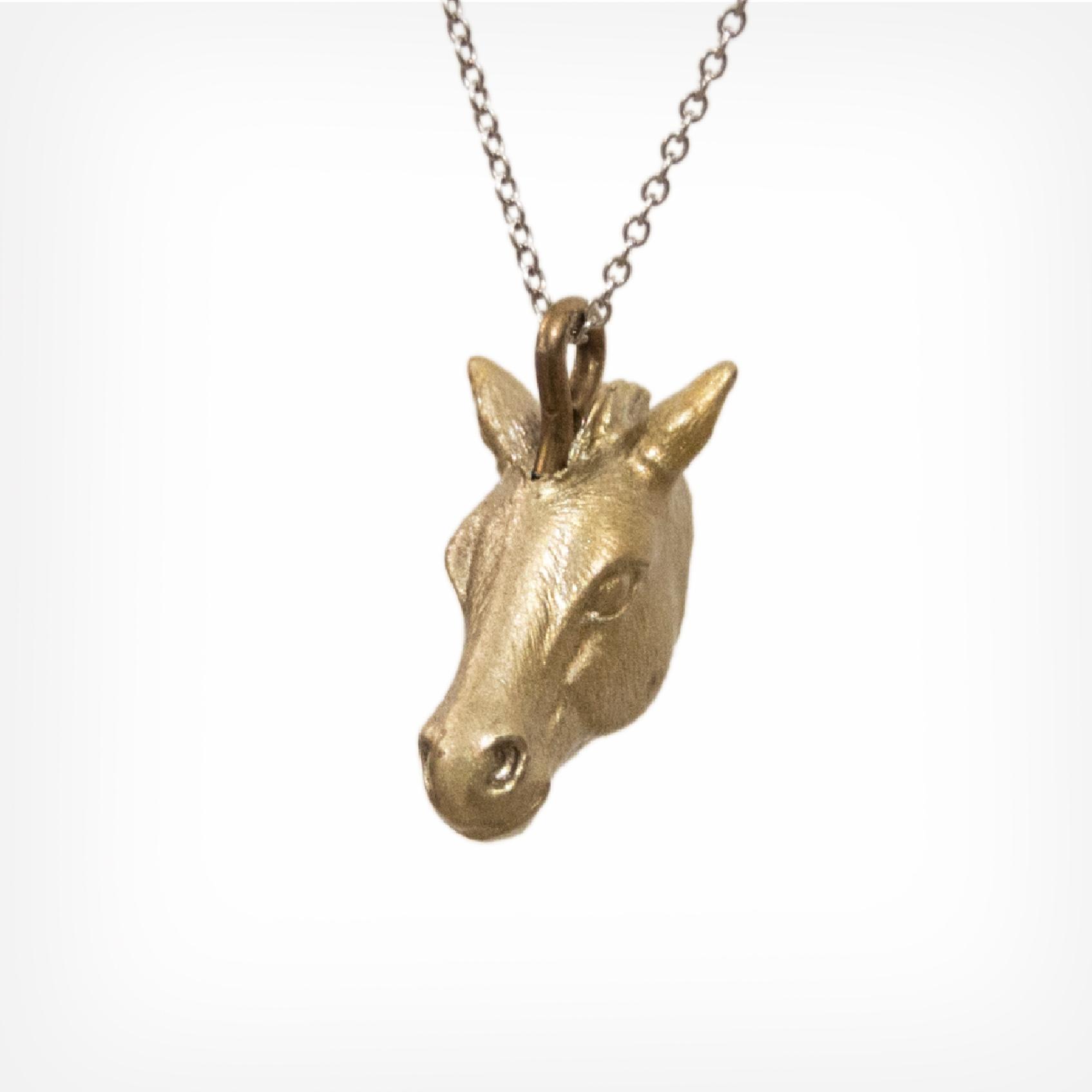 Pferd gold | horse gold