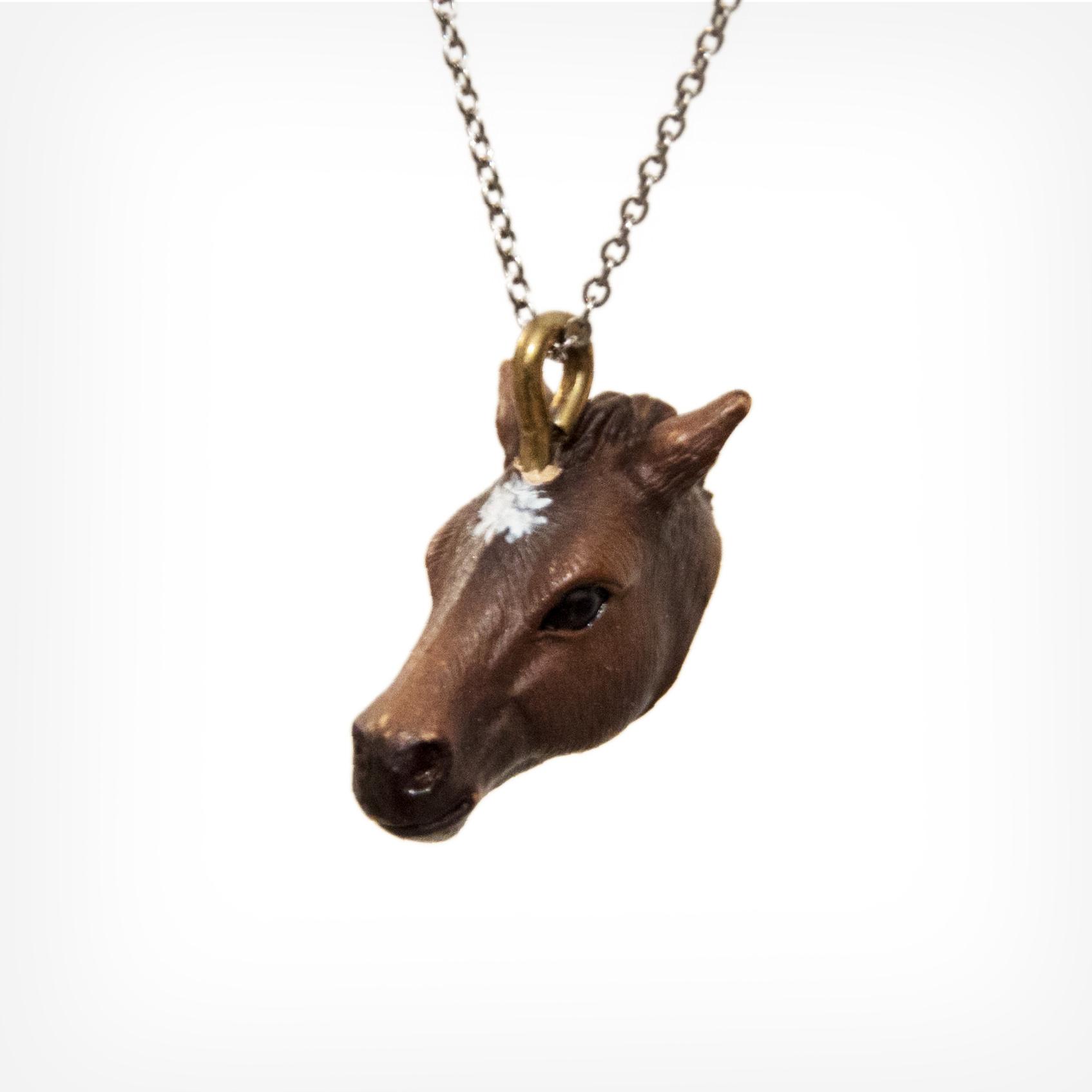Pferd braun   horse brown