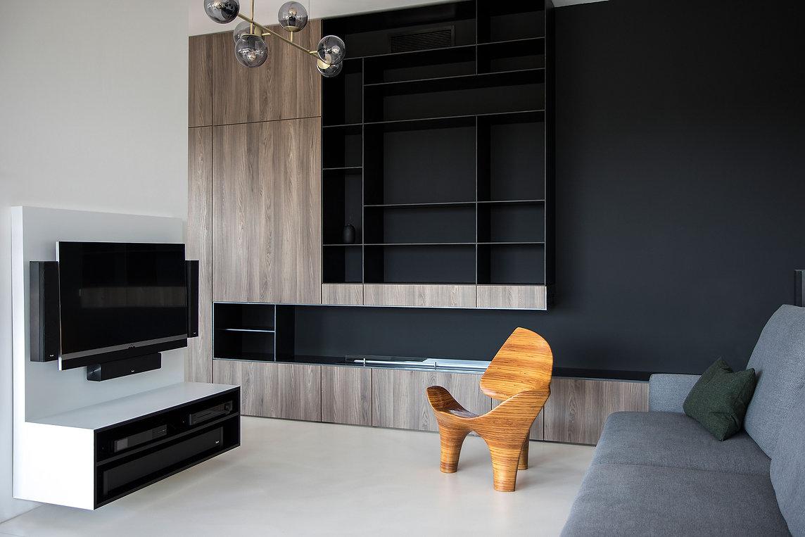 caramel-architekten-martina hatzenbichler-wien-vienna-innenarchitektur-interior design-apartment-wohnung-wohnzimmer-livingroom-kasten-shelf-regal