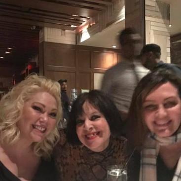 (Center) Judy Segal & Composer Patricia Leonard (Right)