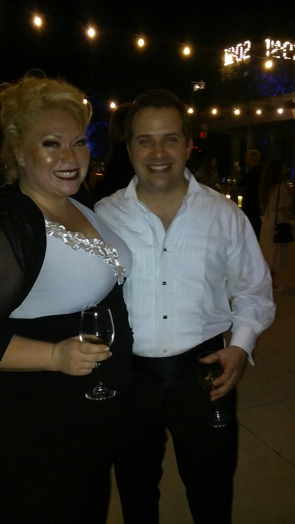 with Maestro Michael Rossi