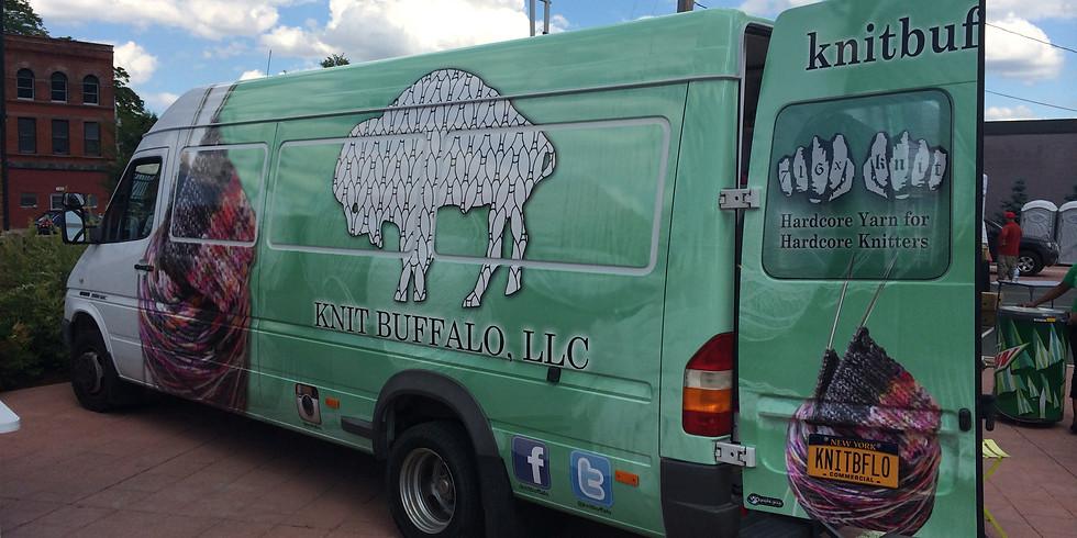 Tina Turner Knits Retreat: Knit Buffalo Visit