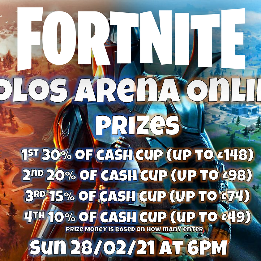 Fortnite Solos Arena Online Tournament