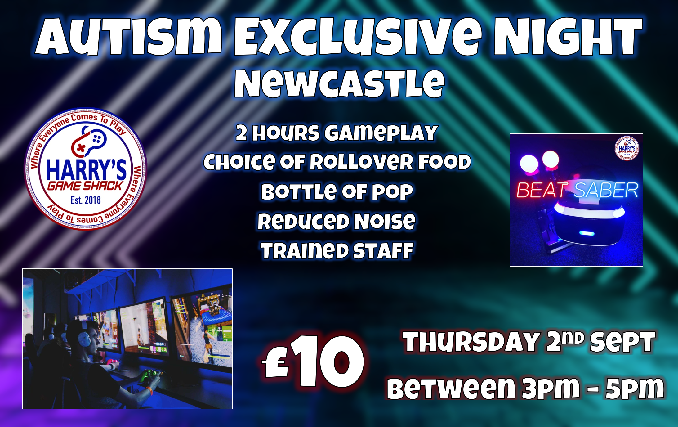 Autsim Exclusive Night Newcastle
