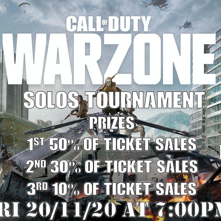 COD Warzone Battle Royale Solos