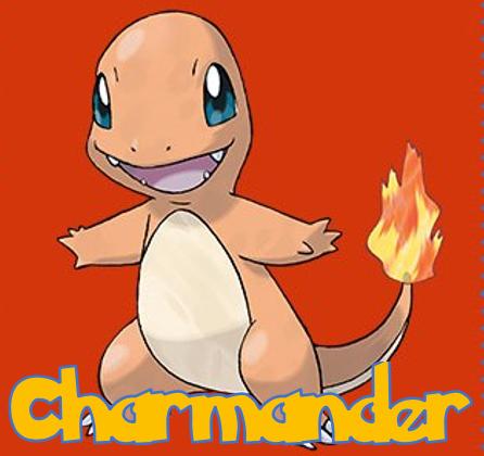 I Choose You Charmander