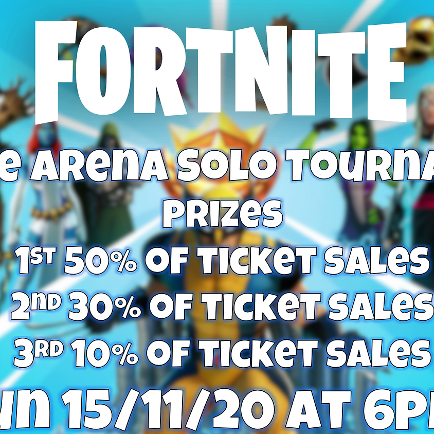 Fortnite Arenas Online (level 15 up only)