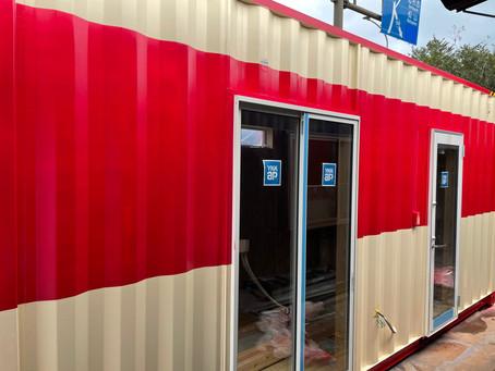 20F特急列車号コンテナハウス