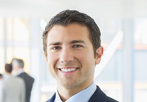 Young Man with Suit