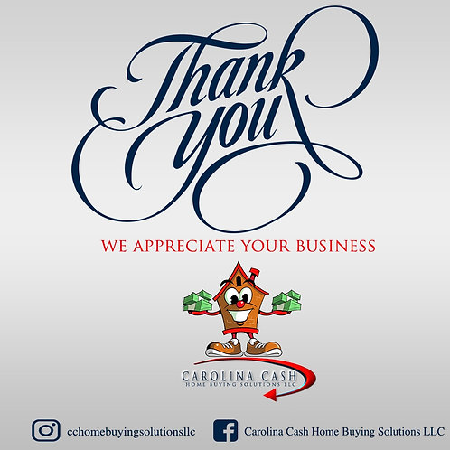 Thank You Card Design (Design Only)