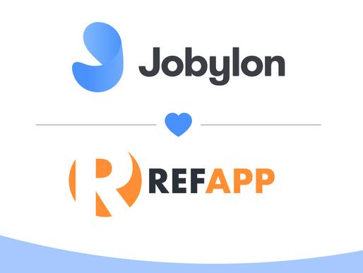 Refapp integration med rekryteringsverktyget Jobylon