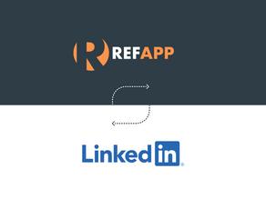 Refapp is now an integration partner of LinkedIn Talent Hub!