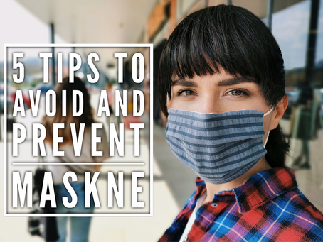 5 tips to avoid and prevent Maskne