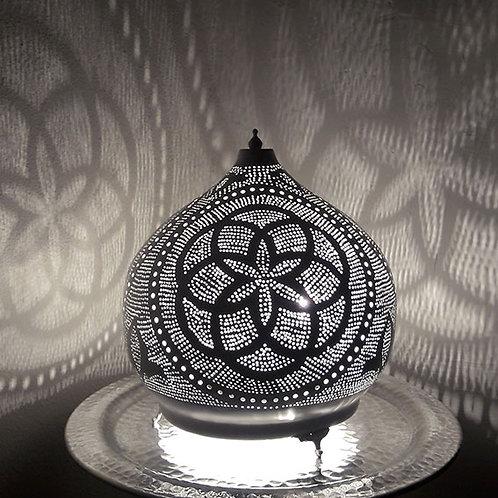 Motifs de la lampe dome egyptienne en métal fait main