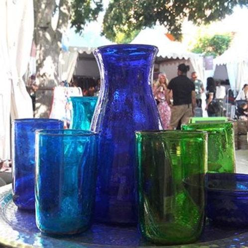 verre soufflé Agamy fait main en Egypte